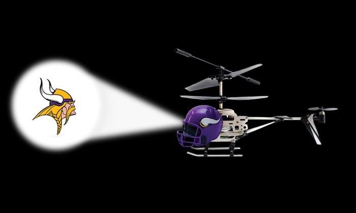 NFL Remote-Controlled Helmet Helicopter: NFL Remote-Controlled Helmet Helicopter. Multiple Teams Available. Free Returns.