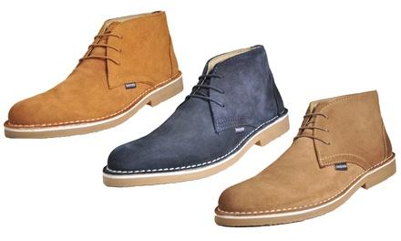 Lambretta Men's Suede Boots