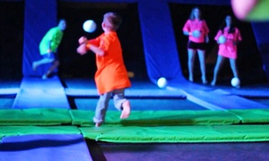 Airbound Trampoline Park: Two or Four 60-Minute Jump Passes at Airbound Trampoline Park (Up to 46% Off)