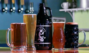 Kaktus Brewing Co.: $20 for a Private Beer Tasting and Brewery Tour for Up to 10 at Kaktus Brewing Co. ($60 Value)