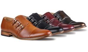 Signature Men's Triple Monk Strap Dress Shoes