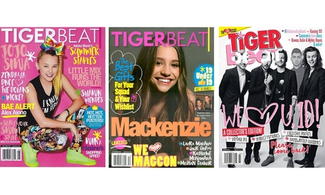 1-Year Subscription to TigerBeat Magazine (6 Issues) 227cc91c-1240-42a7-9b7b-936acb1a802c