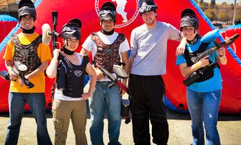 Up to 87% Off Admission and Equipment from Paintball Tickets