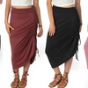 Lyss Loo Women's Adjustable Maxi Skirt