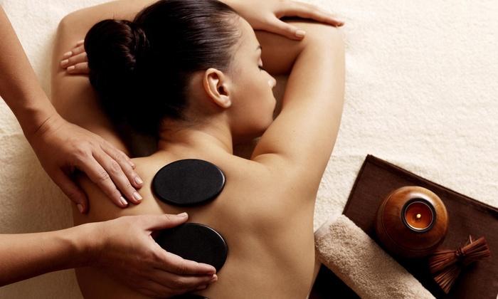 Moon Mountain Massage - Baker: Three 90-Minute Hot Stone Massages at Moon Mountain Massage (55% Off)