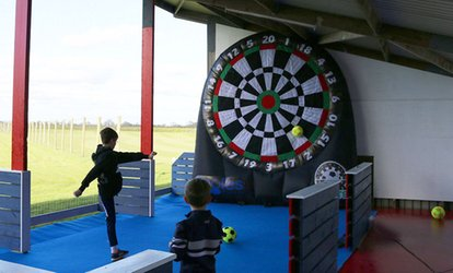 image for 30 Minutes of Kick Darts or Foot Pool, or 60 Minutes of Both for Up to Six at Eagles Golf Center (Up to 50% Off)