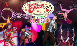 Zippos Circus: One Ticket to Zippos Circus Peckham Rye or Twickenham, 8 - 20 September (Up to 50% Off)