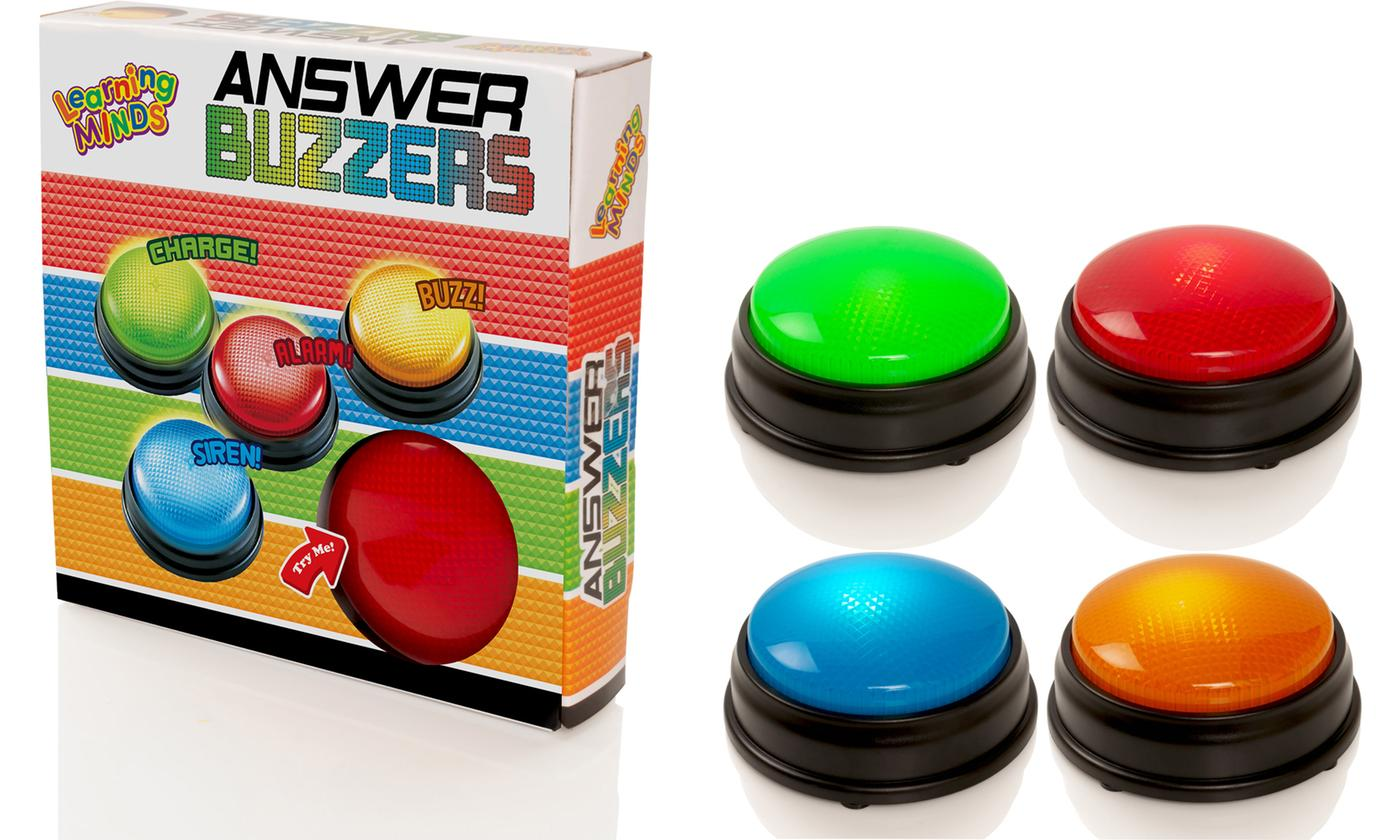 Four-Pack Electronic Answer Buzzers