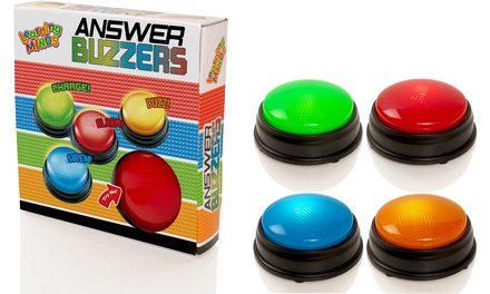 FourPack Electronic Answer Buzzers
