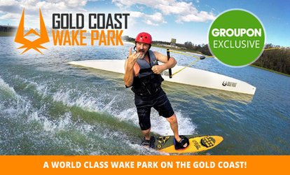 Wakeboarding or Kneeboarding: 1-Hour ($24), Full Day ($55) or 1-Month ($249) at GC Wake Park (Up to $395.95 Value)