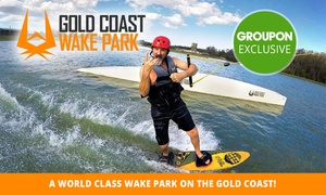 GC Wake Park: Wakeboarding or Kneeboarding: 1-Hour ($24), Full Day ($55) or 1-Month ($249) at GC Wake Park (Up to $395.95 Value)