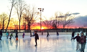 Westport PAL Rink: Ice Skating for Two or Four with Skate Rental at Westport PAL Rink (Up to 52% Off)