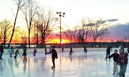 Ice Skating for Two or Four with Skate Rental at Westport PAL Rink (Up to 52% Off)
