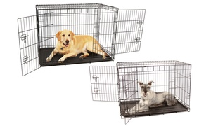 Carlson Double Door Wire Pet Crate