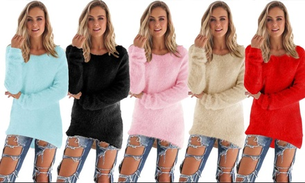 Women's Fluffy Jumper for £9.98
