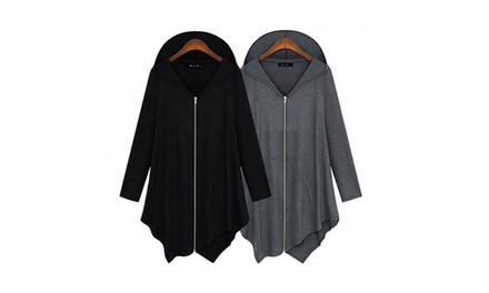 Women's Oversize Lightweight Hooded Cardigan for £10.99