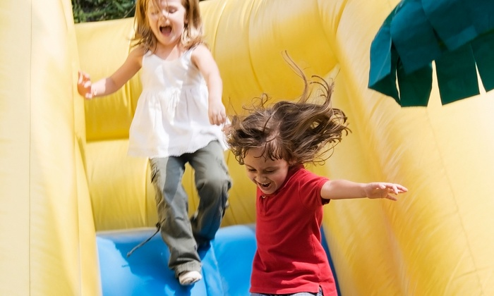 Bounce U - Orange: One- or Five-Day Kids' Summer Art Camp at Bounce U (38% Off)