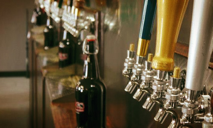 J.U.G.S - Downtown: $20 for Two 64-Ounce Growlers Filled with Craft Beer at J.U.G.S (Up to $76.96 Value)