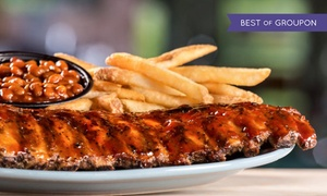 $30 for $40 Towards Food and Drink at Quaker Steak and Lube