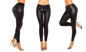 Leggings effet cuir