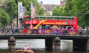 City Sightseeing Amsterdam: Ontdek Amsterdam op een unieke manier met een tour in de Hop On Hop Off-bus en/of boot van CitySightseeing