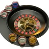 Roulette Drinking Game with Shot Glasses (9-Piece)