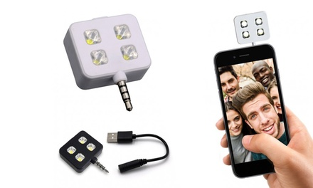 Mini Flash LED para Smartphones por 6,93 € (65% de descuento)