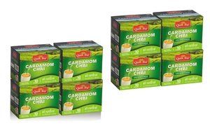QuikTea Sweetened or Unsweetened Cardamom Chai Latte (40-Count)