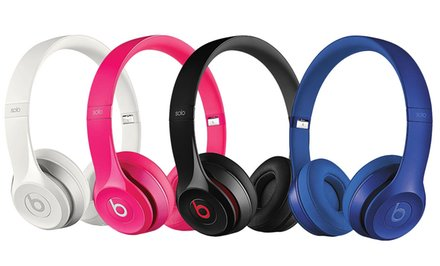 image for Beats by Dr. Dre Solo2 On-Ear Headphones—Refurbished