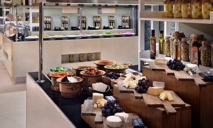 Lunch Buffet with Soft Drinks for One, Two or Four at Na3Na3 at The Address Dubai Mall (Up to 44% Off)