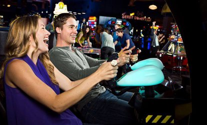 image for All-Day Gaming Package for Two, Four, or Six at Dave & Buster's - Capitol Heights (Up to 76% Off)