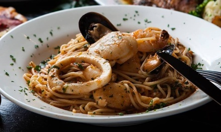 TwoCourse Italian Lunch or Dinner with Wine $55 or 4 People $109 Up to $198 Value