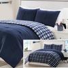 Plaid Comforter Set (2- or 3-Piece)