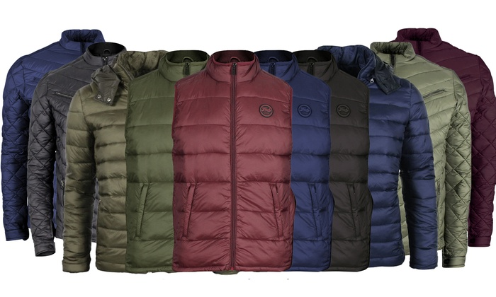 The Fresh Brand Men's Lightweight Puffer Jacket and Vests