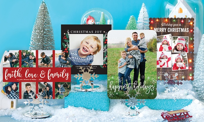 PhotoAffections: 40, 70, or 100 Photo Cards from PhotoAffections (Up to 78% Off )