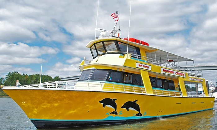 Sunset Lady Dolphin Tours @ The Wharf - Orange Beach: Dolphin-Watching Cruise from The Sunny Lady Dolphin Cruise @ The Wharf (Up to 50% Off). Three Options Available.