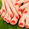 49% Off Manicure and Pedicure