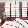 Lavish Home Chevron Kitchen Towel Set (8-Pc) or Washcloth Set (16-Pc)