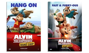 Malvern Theatres: Alvin and the ChipmunksEntry for One Child (£2.70) or Up to Four (£12) at Malvern Theatres (Up to 42% Off)
