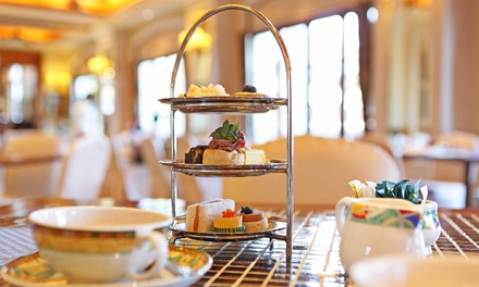 Sparkling Afternoon Tea for Two or Four at Hilton Leicester Hotel