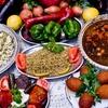 Vegetarisches 3-Gänge-Orient-Menü