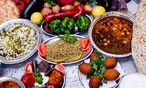 Le Saint Georges: Assortiments de 16 mezzés et dessert au choix pour 2 personnes dès 25,90 € au restaurant Le Saint Georges