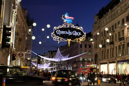 Christmas Lights London Bus Tour for One Child or Adult with Premium Tours
