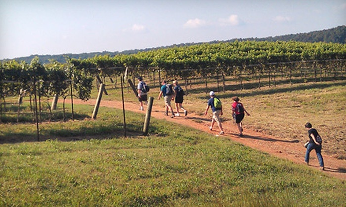 Wine Hikers - Atlanta: Wine Tasting and Hiking Package for Two, or Four from Wine Hikers (Up to 53% Off)