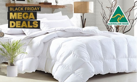 From $35 for an Australia-Made All-Season Soft Bamboo Blend 400GSM Quilt (Don't Pay up to $269)