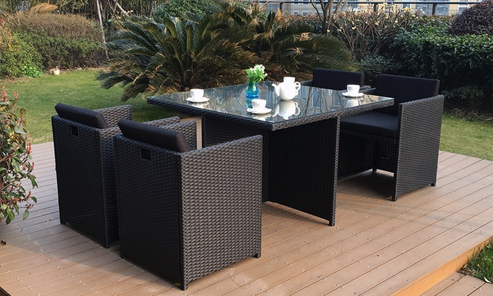 Salon de jardin encastrable | Groupon Shopping