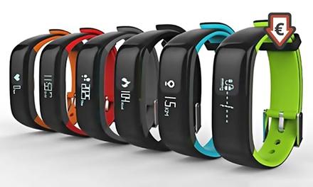 Sportarmband met Bluetooth en hartslag en bloeddrukmeters