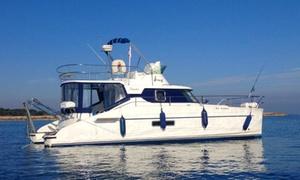 Askatasuna: Privatisation de catamaran pour une journée en mer jusqu'à 12 personnes à 299,99 € avec Askatasuna