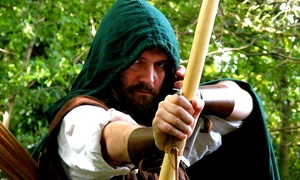 The Robin Hood Legacy: The Robin Hood Tour Ticket for a Child, Two Adults or a Family at The Robin Hood Legacy (Up to 54% Off)