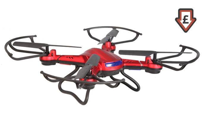 Nibiru XR-1 Camera Equipped Drone Copter for £49.99 With Free Delivery (72% Off)